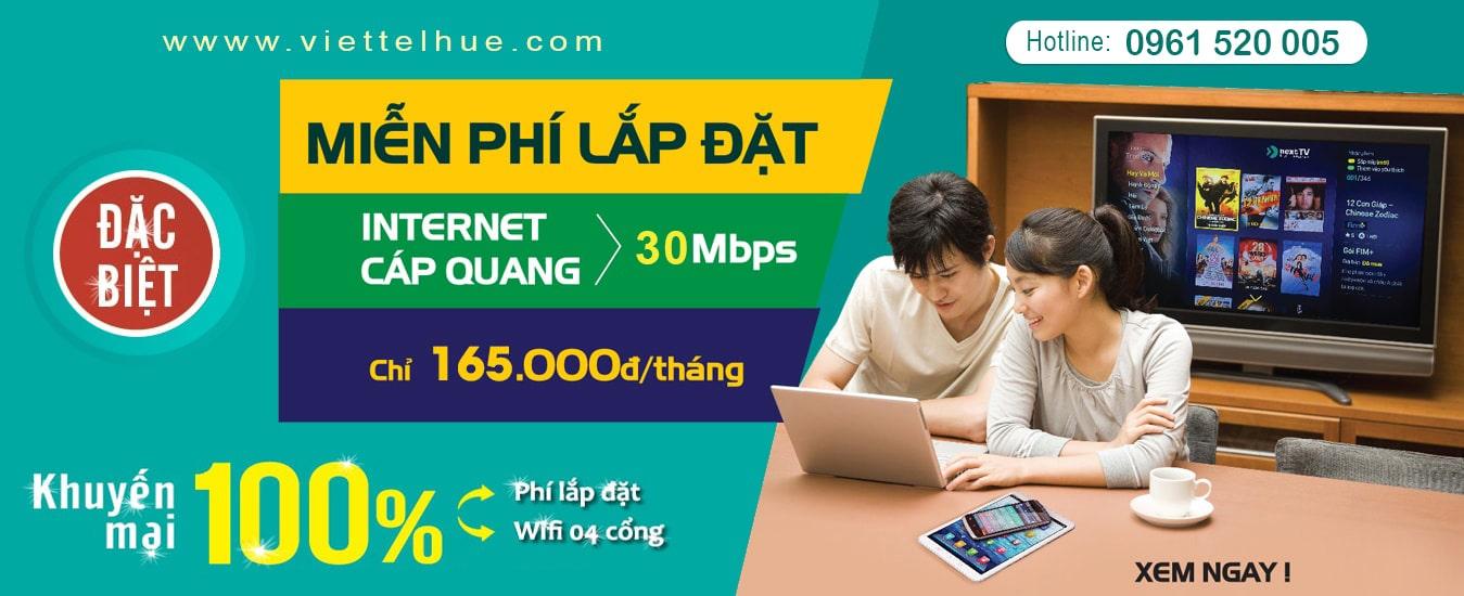 Lắp Mạng Viettel Huế đăng Ky Cap Quang Viettel Tại Huế